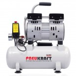 9L Compresseur d'air - 0.6HP 2.8CFM 116PSI 450W