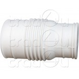 HMC01-XX-013 - Macerator rubber waste connector 32 or 40mm pipe bottom inlet