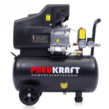 24L LITRE Air compressor - 2.5HP 9.6CFM 116PSI 1.8kW