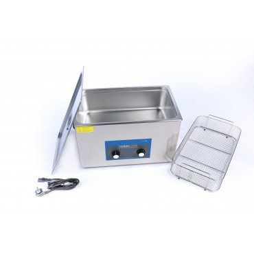 SonicClean ultrasonic cleaner 30L with extra ultrasonic and heating power