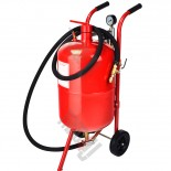 SB 20 Gallon Sandblasting pot auto parts cleaning sandblasting