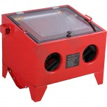 Sand blasting cabinet 90L, portable table top model