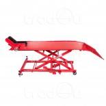 Hydraulic Motorbike Motorcycle Bike Lift Ramp Service Shop Table Bench 1000 lbs