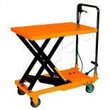 500kg Mobile Lifting Table/Lift Hydraulic Platform Table - Single Scissor