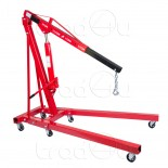 2 ton Hydraulic Folding Engine Crane Stand Shop Crane Hoist lift Jack